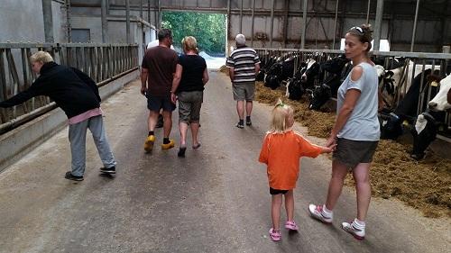 Rondleiding op de boerderij